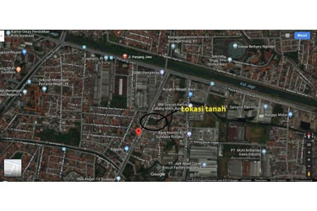 Dijual Tanah Strategis Raya Panjang jiwo Permai surabaya 16521535