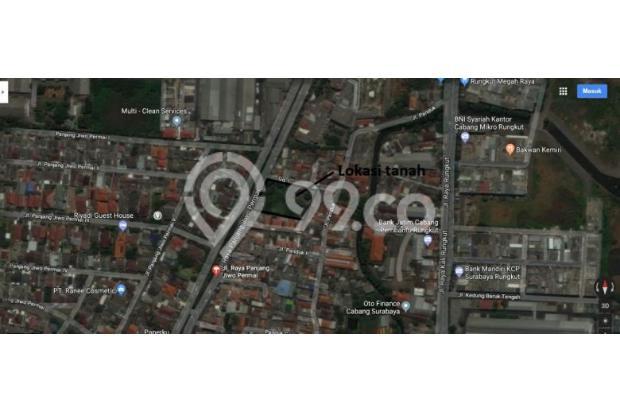 Dijual Tanah Strategis Raya Panjang jiwo Permai surabaya 16521536