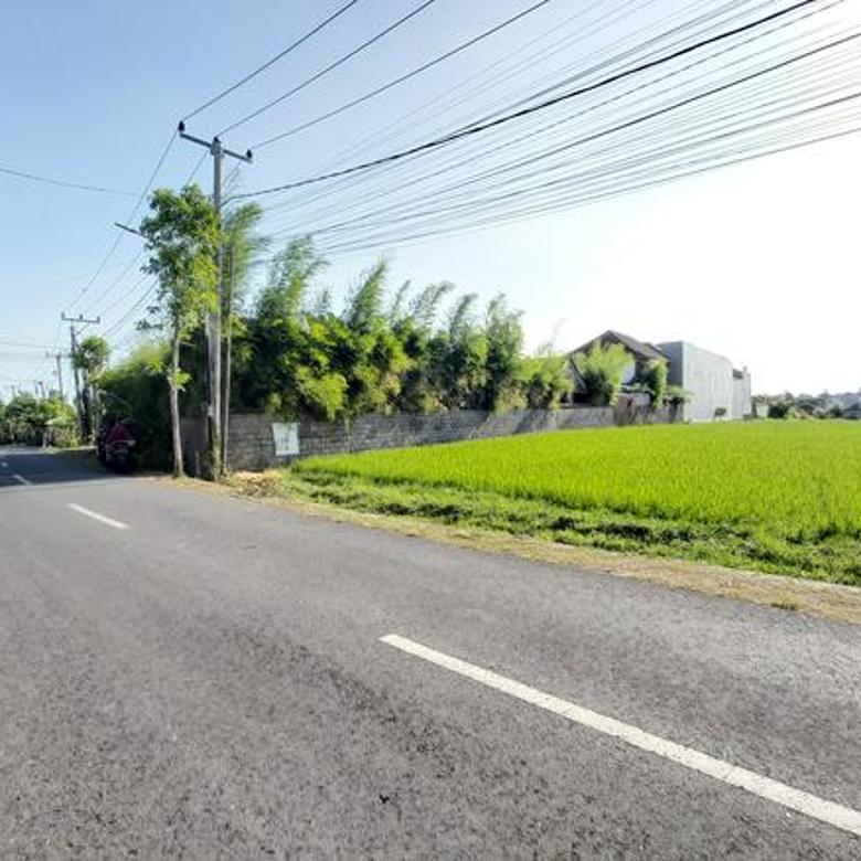 Leasehold Land Suitable for Villa Development Business in Umalas, Very Close to Berawa and Popular Destination in Canggu