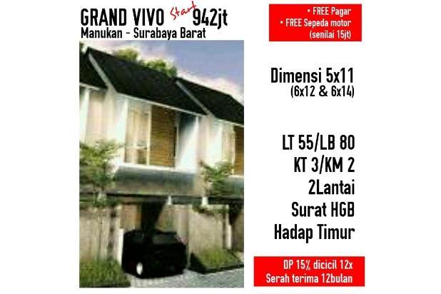 Rp942jt Rumah Dijual