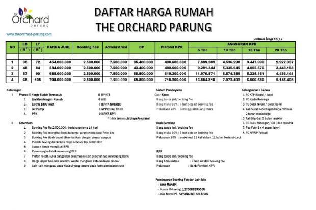 Tanpa DP, Bunga Rendah 6 % Hanya di TOP Residences 16224227