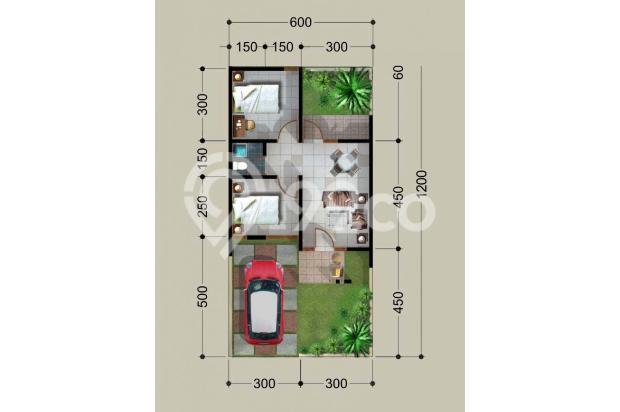 Rumah Mirah Baru Dekat Mall PTC Surabaya, Ready Stok, Free Biaya-biaya, 17307254