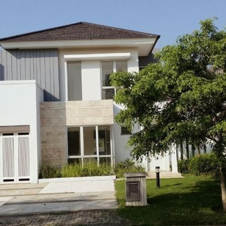 rumah cantik desain modern di bsd city
