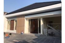 Rumah gress model modern minimalis di Pondok Nirwana Surabaya