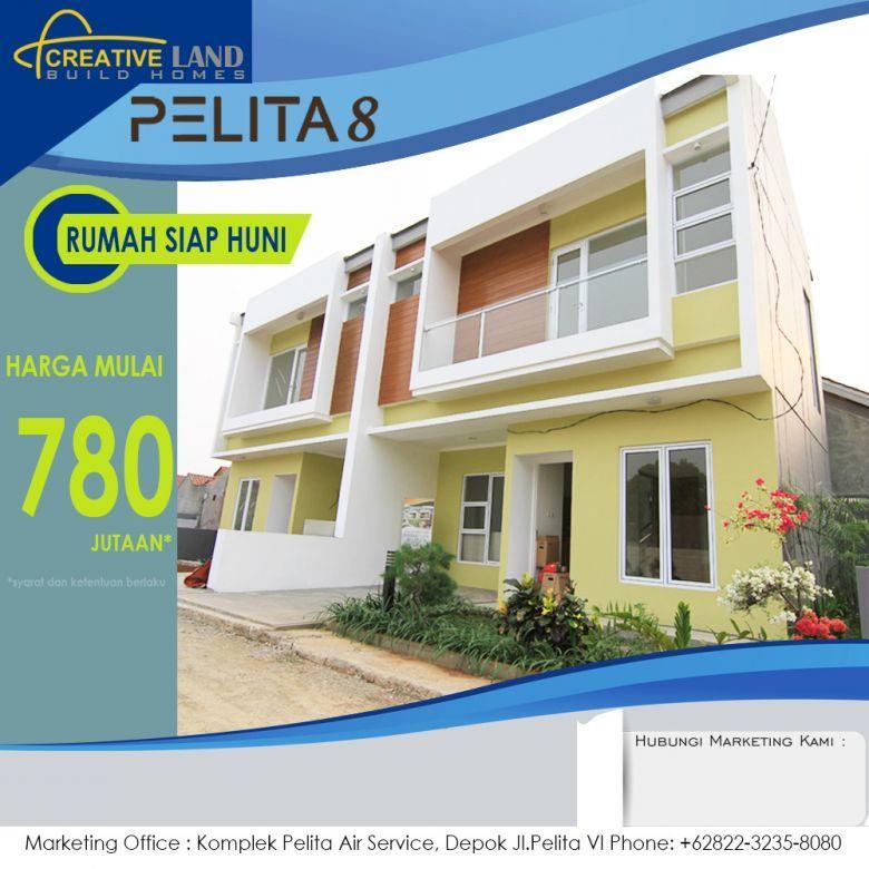 Rumah Mewah 2 lantai Harga780jta. Lokasi Depok Jawa Barat
