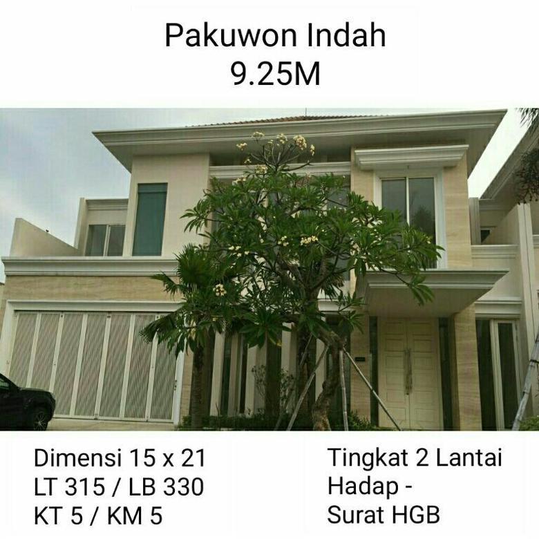 Rumah Dijual Pakuwon Indah La Riz Woodland Golf Surabaya Barat Mewah