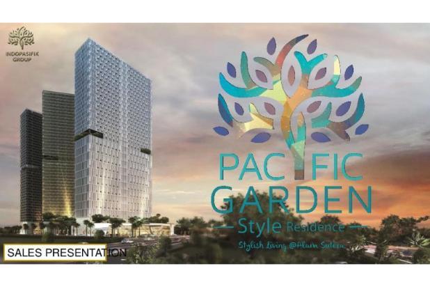 Dijual Apartemen Studio Strategis di Pacific Garden Alam Sutera Tangerang 13167680