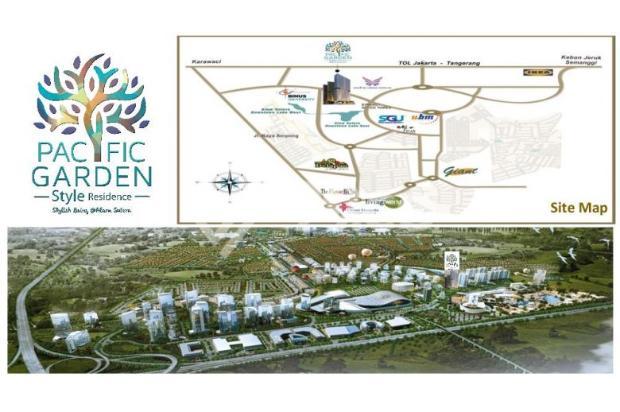 Dijual Apartemen Studio Strategis di Pacific Garden Alam Sutera Tangerang 13167687