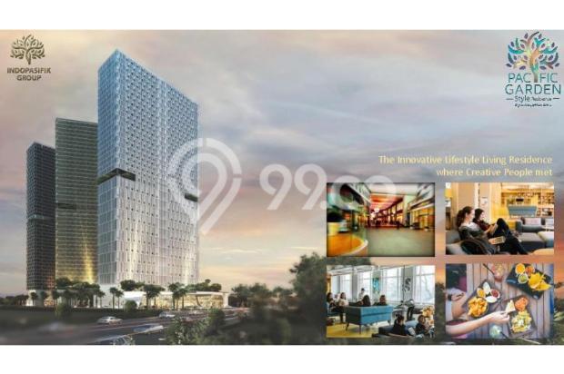 Dijual Apartemen Studio Strategis di Pacific Garden Alam Sutera Tangerang 13167692