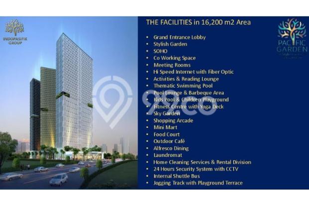 Dijual Apartemen Studio Strategis di Pacific Garden Alam Sutera Tangerang 13167693