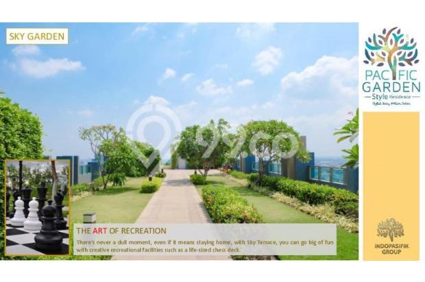 Dijual Apartemen Studio Strategis di Pacific Garden Alam Sutera Tangerang 13167707