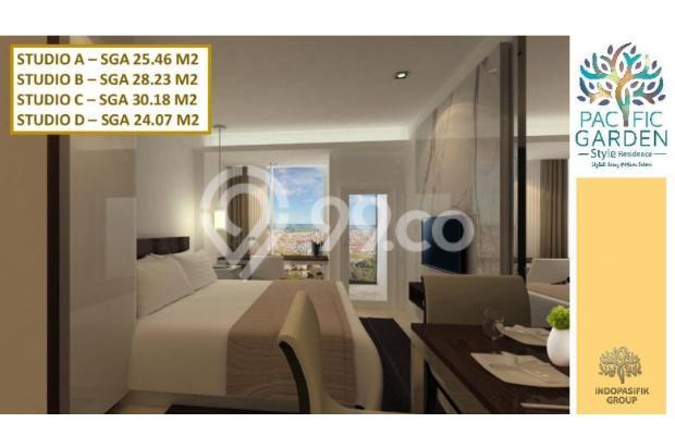 Dijual Apartemen Studio Strategis di Pacific Garden Alam Sutera Tangerang 13167718