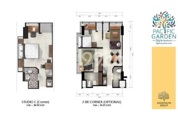 Dijual Apartemen Studio Strategis di Pacific Garden Alam Sutera Tangerang 13167726