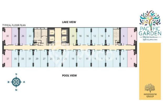 Dijual Apartemen Studio Strategis di Pacific Garden Alam Sutera Tangerang 13167723