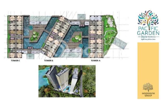Dijual Apartemen Studio Strategis di Pacific Garden Alam Sutera Tangerang 13167728