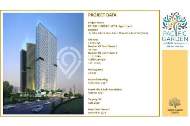 Dijual Apartemen Studio Strategis di Pacific Garden Alam Sutera Tangerang 13167731