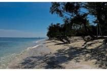 Tanah pinggir pantai 3,000 m2 di Gili Trawangan ideal untuk hotel dan Villa