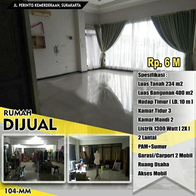 Rumah Jl. Perintis Kemerdekaan Sondakan
