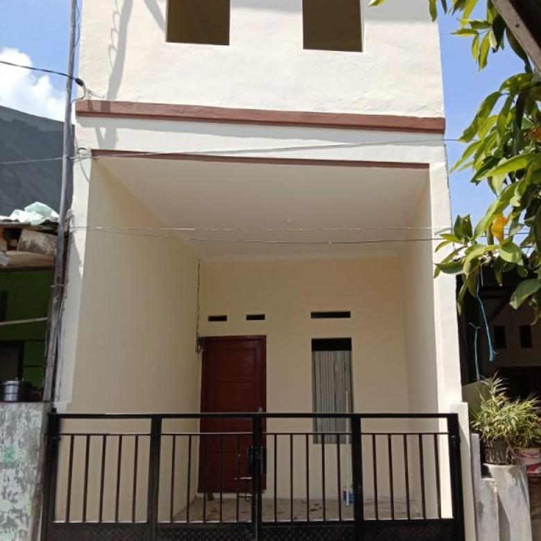 Rumah Design Mungil Tingkat di bintara jaya (J0305)