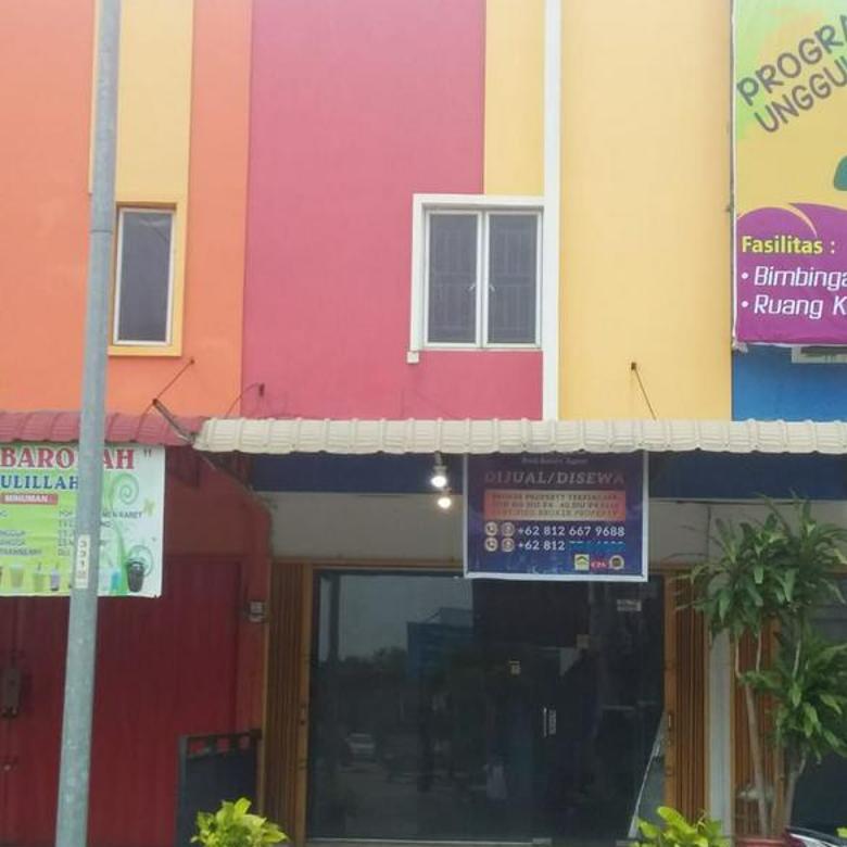 Ruko Vista Indah Blok K No. 52. Area sudah ramai cocok Buka Usaha