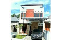 Rumah Dua Lantai Harga Satu Lantai, Design Etnik Modern