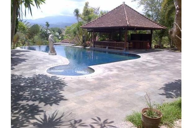 villa lokasi berbatasan dengan kota mataram