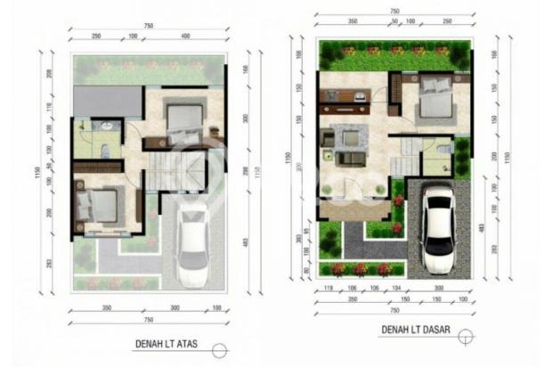 Rumah 2 Lantai Murah DP 34 Juta Harga ALL IN di Padasuka Kodya Bandung 12398103