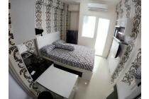 Apartemen Green Pramuka disewakan Bulanan type 21 Studio Full Furnished