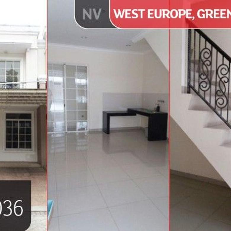 LJHTS/PPP/11036 (For Sale) Rumah Green Lake City Cluster West Europe, Tange