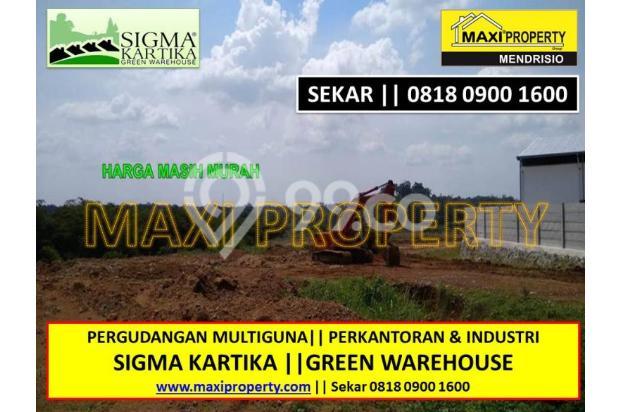 Dijual Kavling Lokasi Bagus Dekat Perbatasan Bogor dan Tangerang 17119738