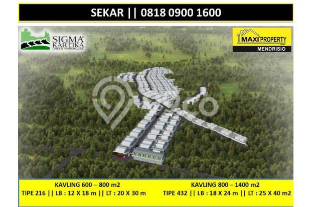 Dijual Kavling Lokasi Bagus Dekat Perbatasan Bogor dan Tangerang 17119813