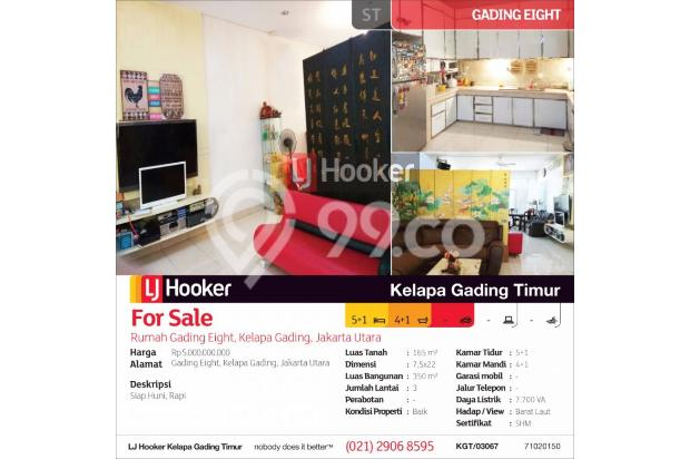Rumah Gading Eight, Kelapa Gading, Jakarta Utara 14418752