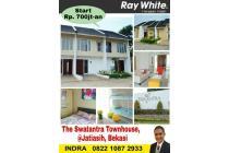 Rumah dijual di Jatiasih The Swatantra Townhouse