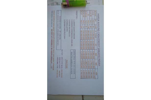 Brosur kavling sanjaya indah 13698455