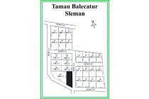 Taman Balecatur, 25 Unit, Kapling Matang, DISKON 25%