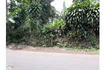 Lahan murah pinggir jalan lebar tamansari bogor