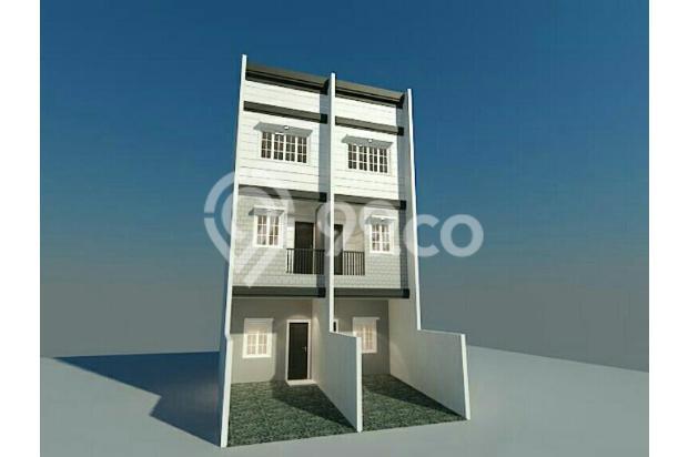 rumah baru uk 3.5x15m di komplek kavling polri 14011275