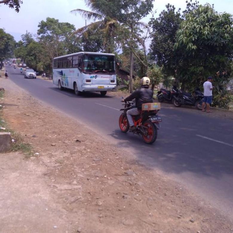Tanah SHM luas di jalan Provinsi ,Bandung selatan