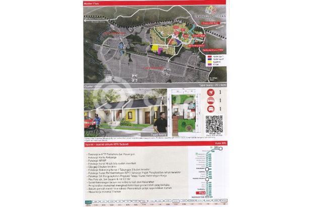 permata mutiara maja rumah murah dp 0% dkt stasiun 15893090