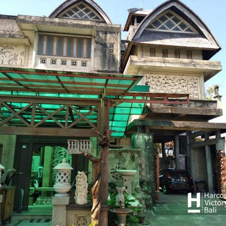 Tanah + Bangunan 3 Lantai area Batubulan, Gianyar