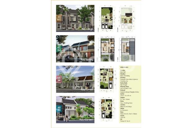 Hunian minimalis 1 lantai siap huni tanpa dp gratis biaya kpr di cibinong 16453002