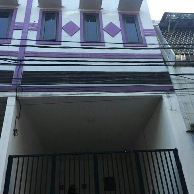 rumah murah jalan 2 mobil uk 3.5x10.5m di jelambar