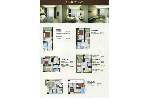 Investasilah di Apartmen Yang Jelas Legalitasnya, Murah Rp. 200 Jutaan 18274559