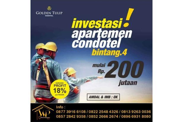 Investasilah di Apartmen Yang Jelas Legalitasnya, Murah Rp. 200 Jutaan 18274562