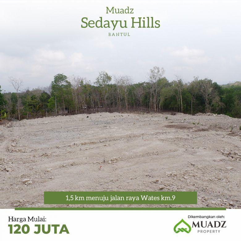 Kavling tanah Perumahan mewah Di Dekat Jl Wates Km 9