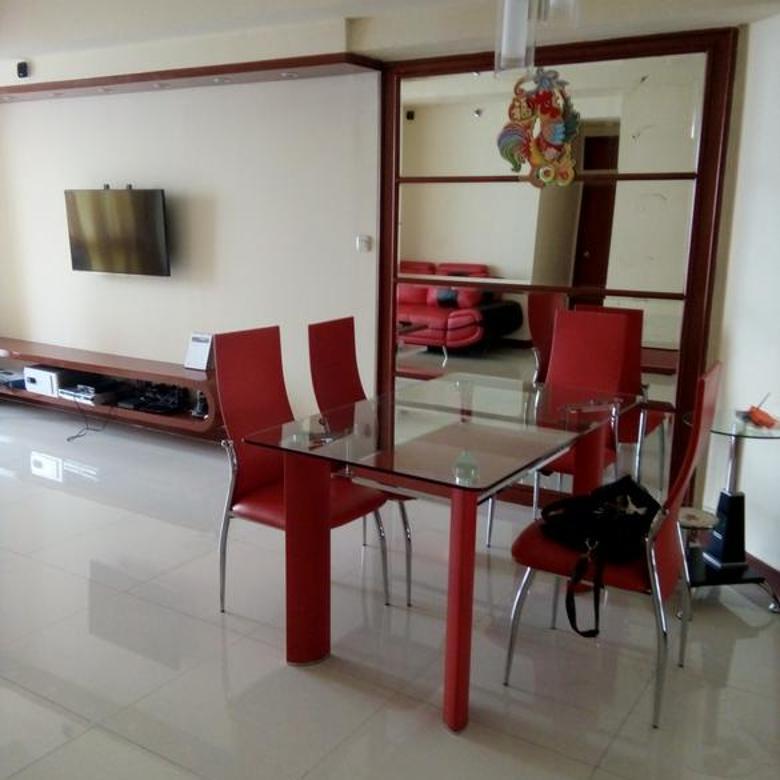 Murah murah apartemen taman anggrek, 2kt, furnish