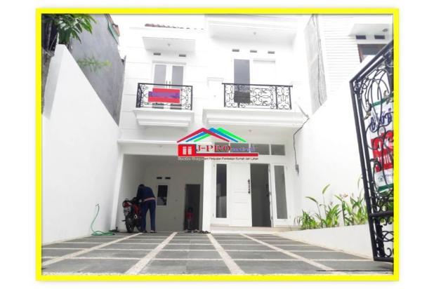 Rumah Baru 2 lantai lux bagus di Tebet Barat Siap huni carport bisa 3 mobil 15535527