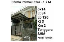 Rumah Darmo Permai Utara Surabaya Barat Baru Minimalis Murah