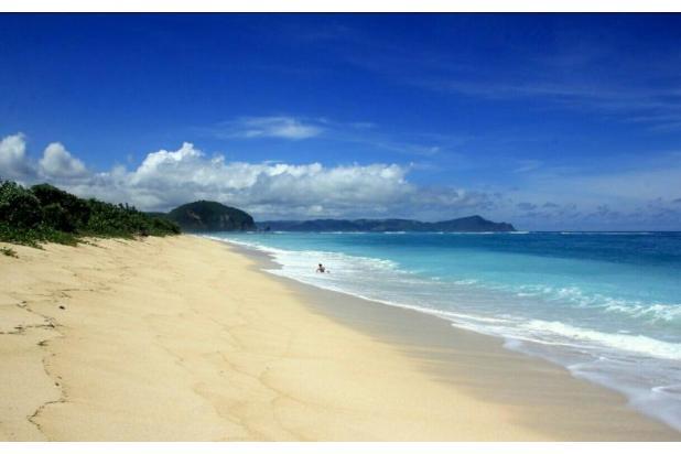 dijual murah tanah pinggir pantai pengantap lombok view menawan