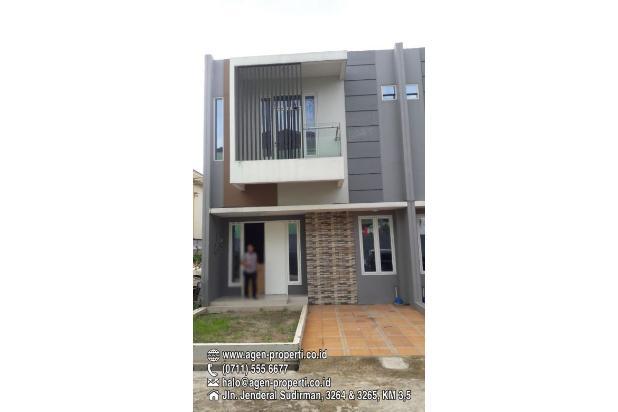 Disewakan Townhouse Cantik di Perindustrian 2 Sukarame Palembang 17698750